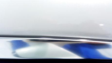 BMW640ⅰ メッキモール隙間の黒ずみ除去 埼玉県所沢の車磨き専門店 和光