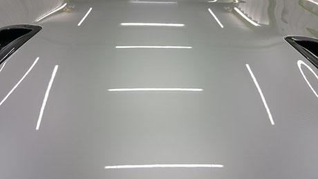 r35gt-r クレーター除去後のボンネット 埼玉三芳・アートディテール