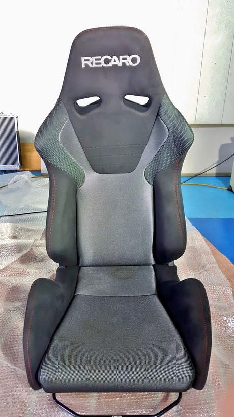 レカロ助手席の黄ばみ汚れ SR‐6
