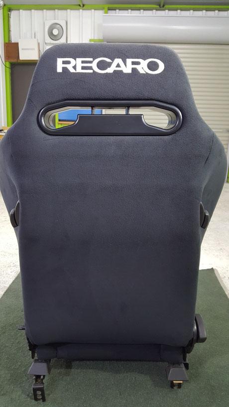 レカロSR‐3背面の洗浄 埼玉
