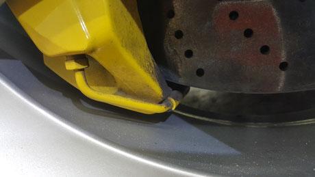 996ターボHPE PCCB ダスト汚れ
