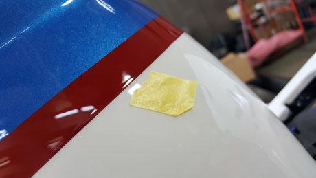 BMW・HP2スポーツのタンク磨き後 埼玉のバイク磨き専門店