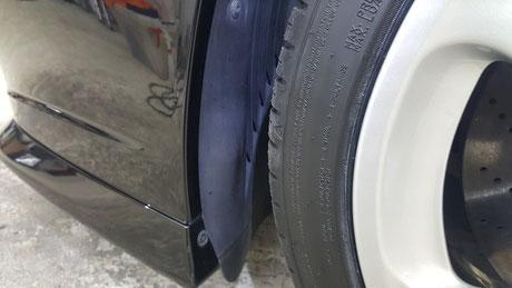 996ターボHPE タイヤハウスの白ボケ