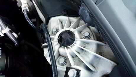 エンジンルームの汚れ除去 三芳 新座 上尾
