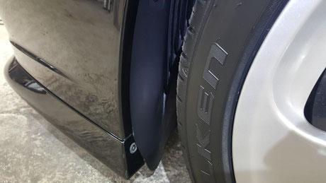996ターボHPE タイヤハウスの艶出し 埼玉