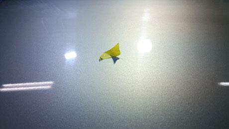 洗車傷が目立つGT‐R