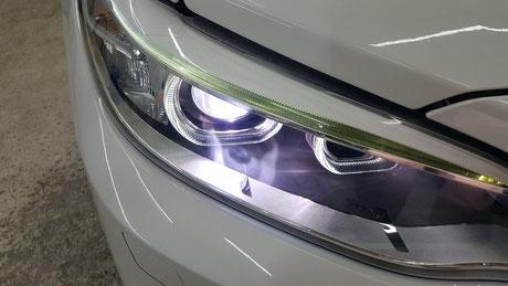 bmw f22 ヘッドライトリペア 埼玉の車磨き専門店・アートディテール