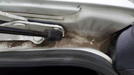 RX‐8の泥汚れ・水あか