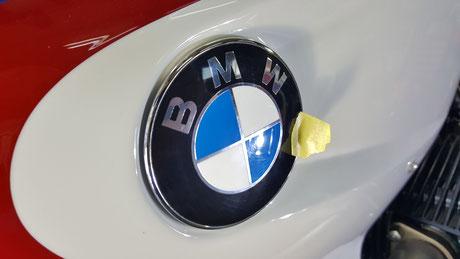 バイク磨き 埼玉 BMW HP2スポーツ コーティング