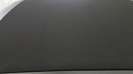 トゥインゴ・キャンバストップ 幌コーティング アートディテール