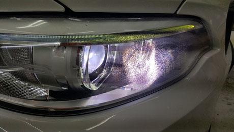 BMW2シリーズ ヘッドライトのひび・クラック F22