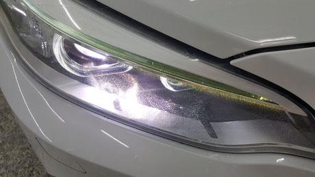 BMW2シリーズ f22 ヘッドライトのひび