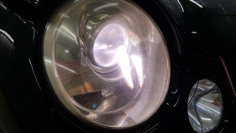 ルポGTIカップカー ヘッドライトの曇り