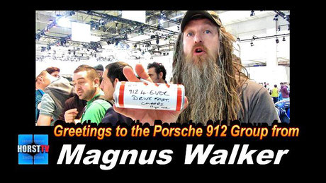 Porsche 912 Fan Magnus Walker