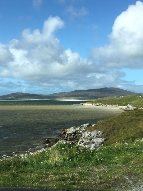 View towards Luskentyre Beach, Isle of Harris