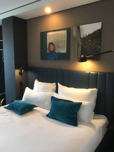 Our room at Motel One Glasgow Central