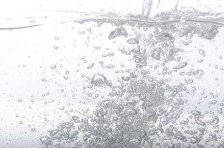 水素風呂の泡イメージ