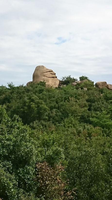 王子が岳・ニコニコ岩