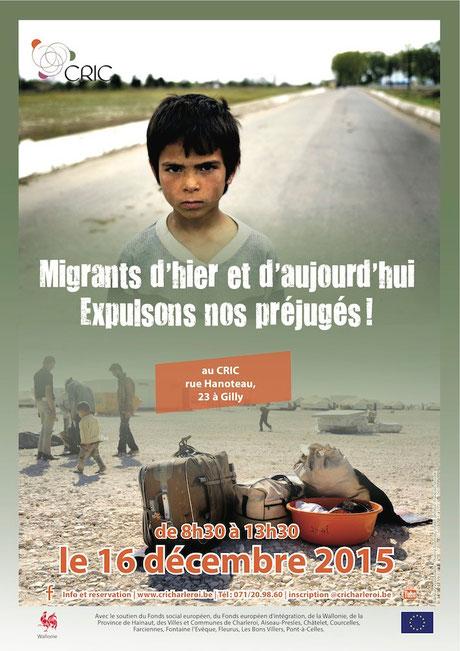 Migrants d'hier et d'aujourd'hui CRIC Charleroi © François Struzik - simply human