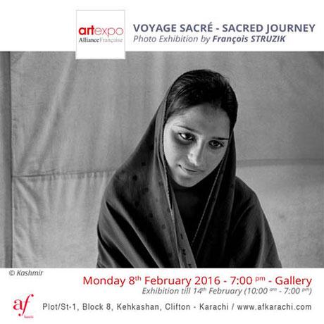 Sacred journey Alliance française Karachi © François Struzik