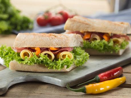 Sandwiches aus unseren Landen, Herkert Catering