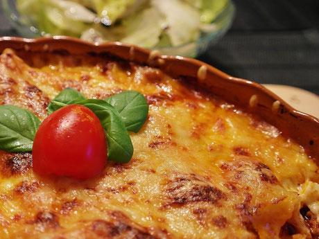 Bandnudeln & Lasagne, Herkert Catering