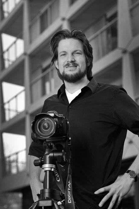 Portrait Fotograf und Gestalter Thomas Odermatt