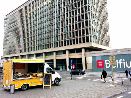 Food truck pour événements en Belgique