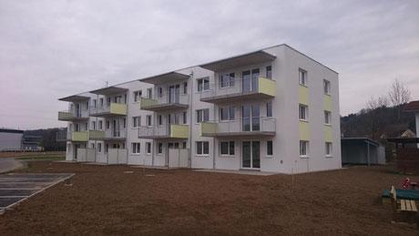 Wohnbau, Terrassen
