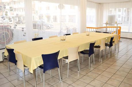 Essbereich, Lehrküche Bildungswerk Bremen-Niedersachsen in Bremen