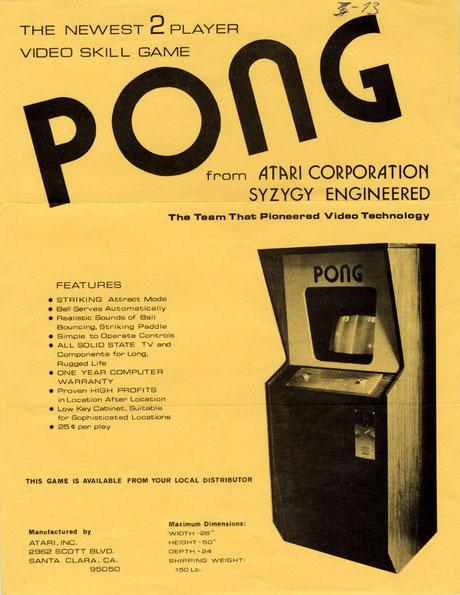 Pong arcade