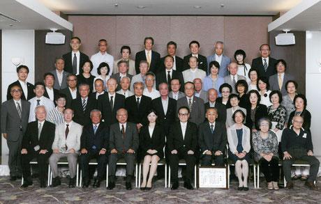 大森倶楽部創立110周年記念祝賀会参加者全員