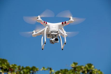 Drohne Hausverwalter Immobilienbewirtschaftung Ruhrgebit