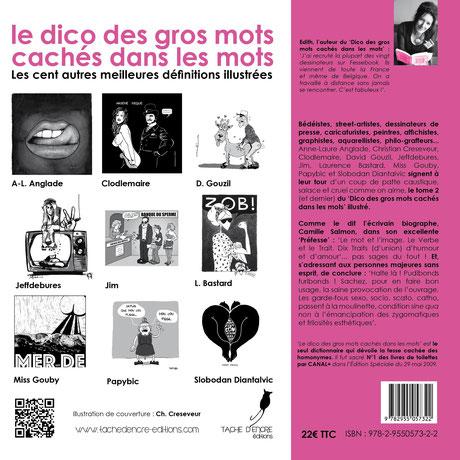 Le Dico illustré TOME 2- 4ème de couverture