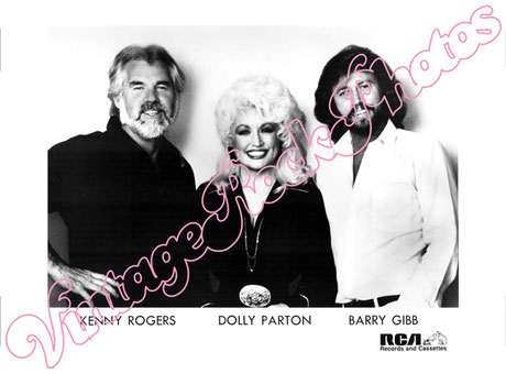 BEE GEES, BERRY GIBB, DOLLY PARTON