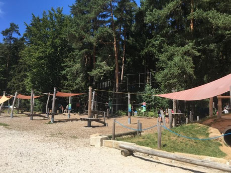 Ferienwohnung Trockau Aktivurlaub im Kletterwald Pottenstein für die ganze Familie