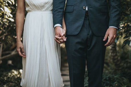 Hochzeit, Paar, Zusammen, Verantwortung, Verträge zusammen legen, Tod, Scheidung