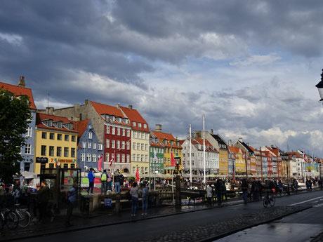 おもちゃ箱のような美しいコペンハーゲンのニューハウン