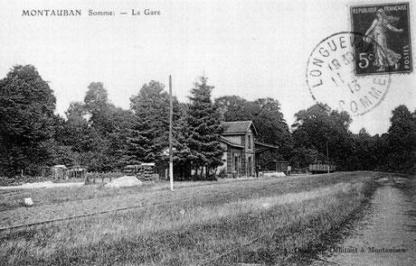 Train - gare - Chambres d'hotes - B&B - gites de france -Somme - picardie - Chambre familiale - double - twin - circuit du souvenir - WW1 - centenaire - 14-18 - Albert - Peronne - Longueval - Pozières - Thiepval - Villers Bretonneux - Somme battlefield