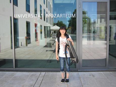 海外滞在記①2011.7.ザルツブルクのモーツァルテウム音楽大学夏期セミナーに参加してきました!