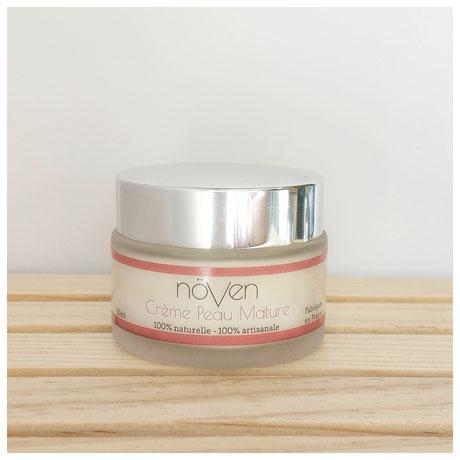 crème visage peau mature növen