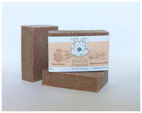 savon à froid naturel pain d'épice anis canelle gingembre artisanal produits cosmétique
