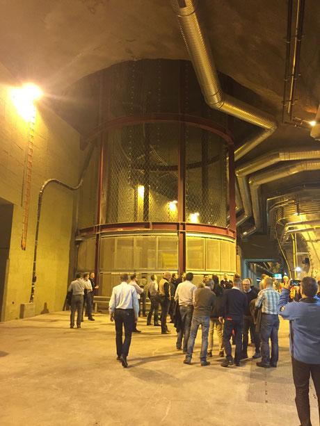 Porta Alpina: Dieser Schacht ist 800m lang und führt nach Sedrun