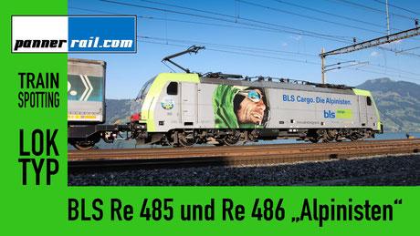 BLS Re 485 und Re 486 - die Alpinisten