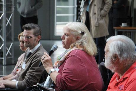 Meldete sich auch in Berlin zu Wort:  Angelika Bochnig vom Seniorenrat Winnenden.