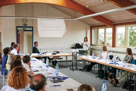 """Auf wichtige Themen wurde bei der  sechsten """"Kommunale Gesundheitskonferenz"""" Rems-Murr-Kreis eingegangen."""