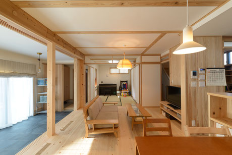 上尾市 シンプルな木の家