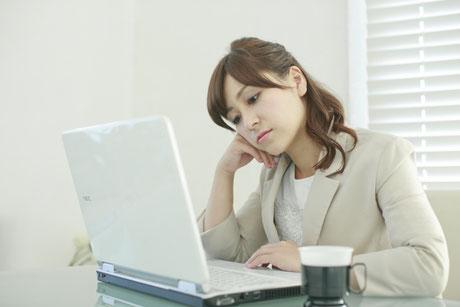 ホームページにアクセスが無くて悩む女性経営者