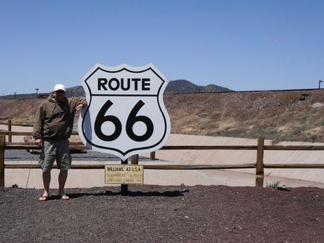 Bild: Route 66, Williams