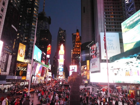 Bild: NYC, Manhattan, Times Square